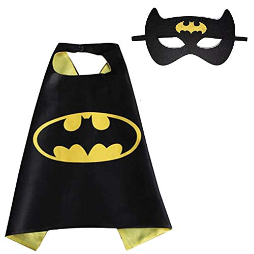(Halloween Costumes, Superhero Children's Cloaks and Masks, Boys and Girls Holiday Costumes or Birthday Gifts)