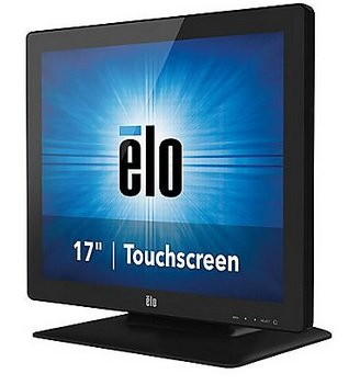 Elo Touch E785229 1723L iTouch Plus LED Desktop Touch Monitor, Zero Bezel, Multi Touch, Anti Glare, 17