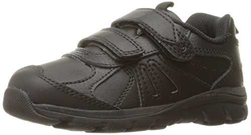 - Stride Rite Boys' Cooper 2.0 H&L Sneaker, Black, 3.5 W US Big Kid