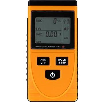 KUNSE GM3120 eléctrico Detector de radiación magnética Tester Phone PC Inicio equitment radiación monitorización con Pantalla LCD: Amazon.es: Hogar