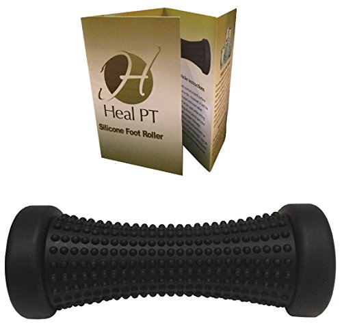 Foot Roller for Plantar Fasciitis Relief by HealPT - High Quality Silicone Foot Roller - Cold Massage Roller for Quick Relief from Muscle Soreness, Tightness and Cramps! (Foot Roller Freeze compare prices)
