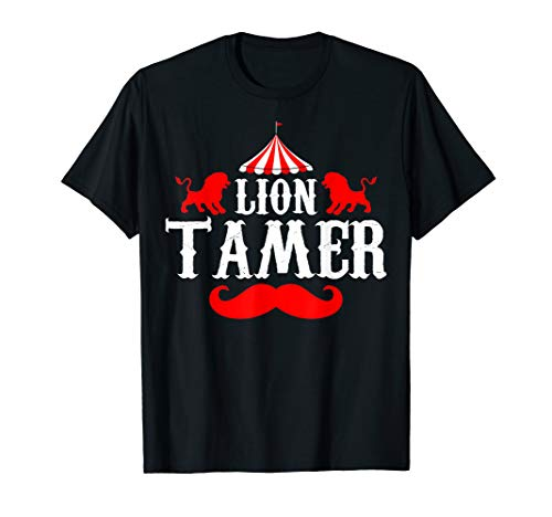 Lion Tamer Circus T-Shirt Gift For Men And Women MM]()