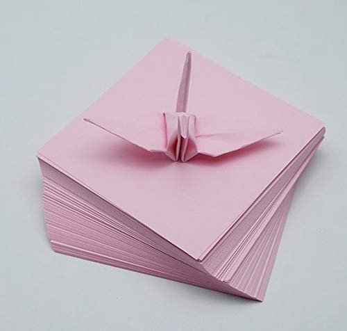 1000 Origami Paper Sheets Pink Paper Pack 3 inch Origami Paper Crane