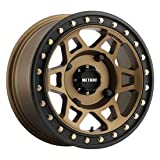 4/156 Method Race Wheels 405 Beadlock Wheel 15x7 5.0 + 2.0 Bronze for Kawasaki MULE Pro-FXT 2015-2018