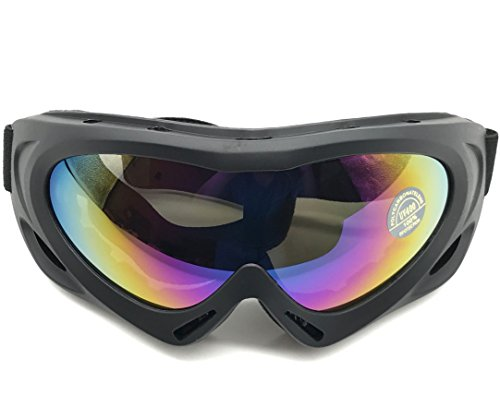 VANCIC New Style Professional Ski Goggles UV400 Protection Windproof Dustproof Snow Goggles Motorcycle Bicycle Goggles Outdoor Sports Protective Goggles Safety Glasses - Goggle Style Sunglasses