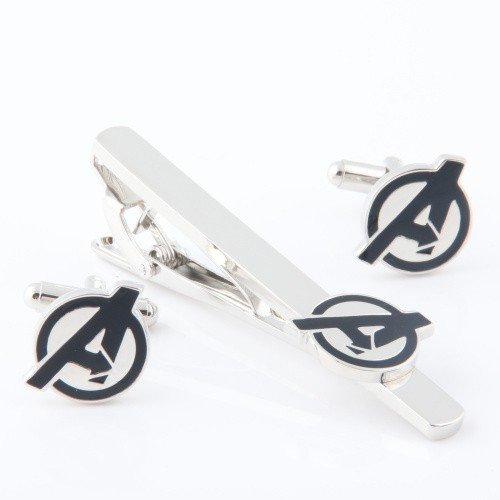 Fashion Jewelry ~ Avengers Tie Clips and Cufflinks Set (A78 A)