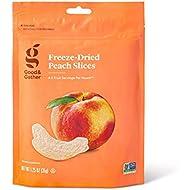 Good & Gather- Freeze Dried Peach Slices - 1.25oz