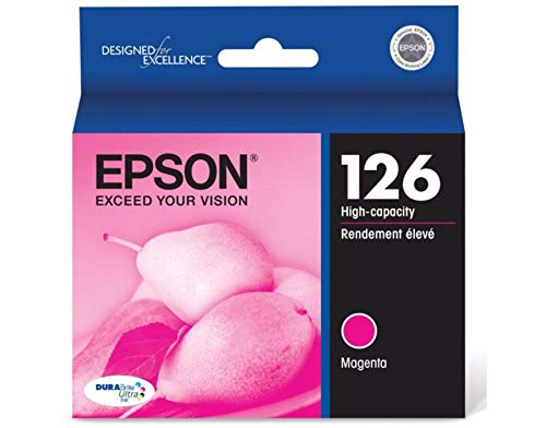 Epson T126320-S DURABrite Ultra Magenta High Capacity Cartri
