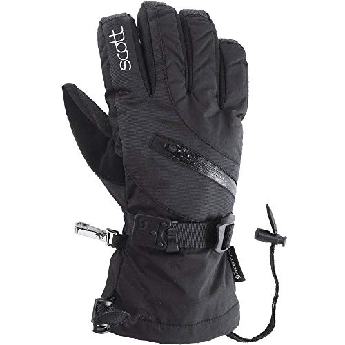 (Scott Womens Traverse Full Finger Gloves - 240049 (Black - M))