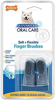 Nylabone Escova de dedo Advanced Oral Care 2 unidades tamanho único