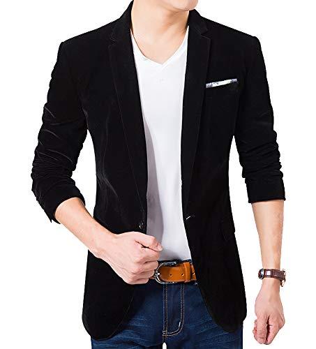 Homme Bishe Blazer Noir S Bishe Blazer gHwf70