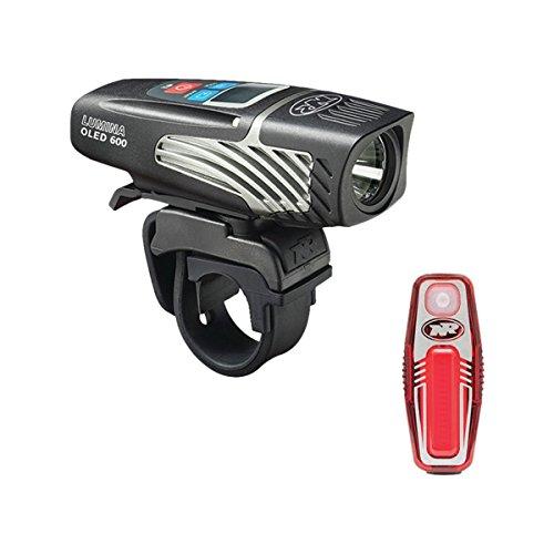 NiteRider Lumina 600 OLED and Sabre 35 Headlight and Taillight Combo