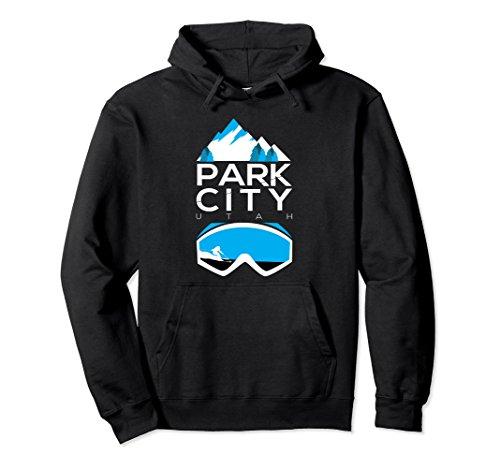 Utah Ski Snowboard (Unisex Park City hoodie - Utah ski & snowboard clothing Small Black)