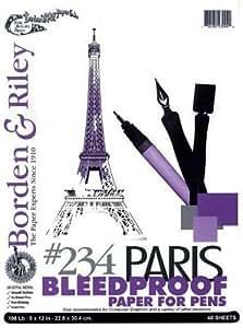 Paris Paper For Pens 9X12