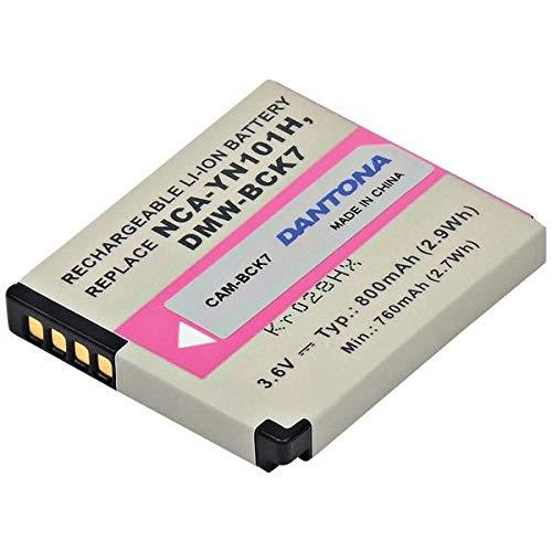 Dantona 3.6V ライオン 再充電バット   B07GFTZZMJ