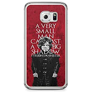 Samsung Galaxy S6 Edge Transparent Edge Case Game Of Thrones Trion Lannister A Very Small Man