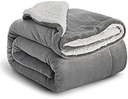 Bedsure Sherpa Fleece Blankets and Throws