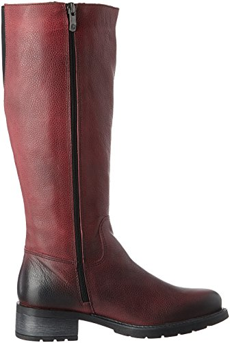 Be Natural 25501, Stivali Donna Rosso (Red)