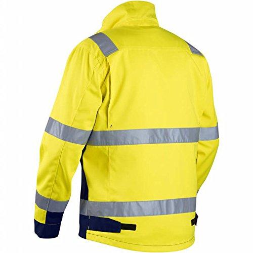 Blakläder 406418113389XS High Vis Veste classe 3 Taille XS Jaune/Marine Bleu