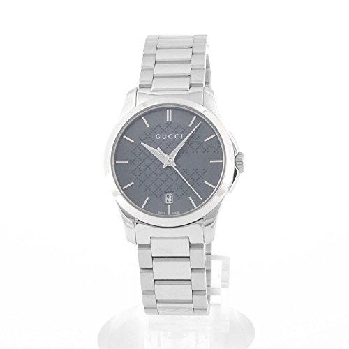 Gucci Women's Watch, Grey Face On Band