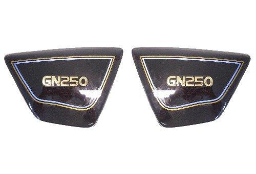 Side Panels Suzuki GN250 Black (Pair) My Moto Parts
