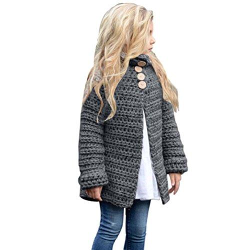 120000c3df5e Amazon.com  ZLOLIA Baby Clothes Winter Toddler Girls Coat Cardigan ...