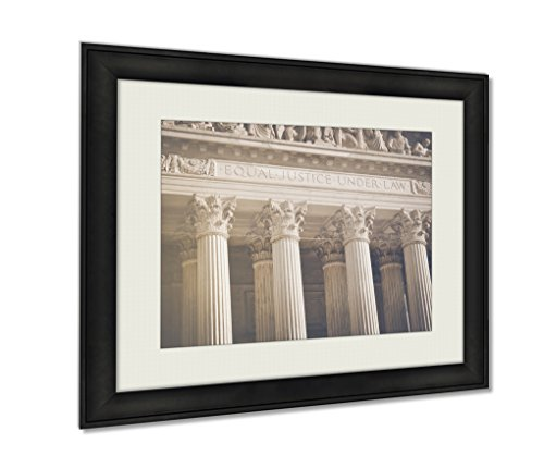 Cheap  Ashley Framed Prints Supreme Court Pillars Of Justice And Law Art photography..