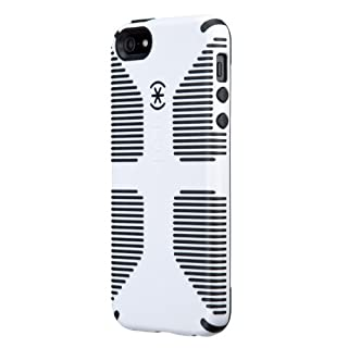 Speck Products CandyShell Grip Case for iPhone 5, Retail Packaging, White/Black (SPK-A0485) (B0093IHXVE) | Amazon Products