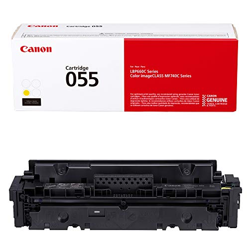 Cartridge 055 Yellow, Standard - Yields up to 2,100 Pages
