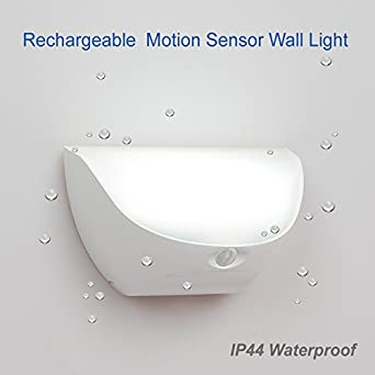 ZEEFO Night Lights Bright Waterproof IP44 Motion Sensor LED Wall Night Light with Rechargeable Lithium battery  sc 1 st  Amazon.com & ZEEFO Night Lights Bright Waterproof IP44 Motion Sensor LED Wall ... azcodes.com