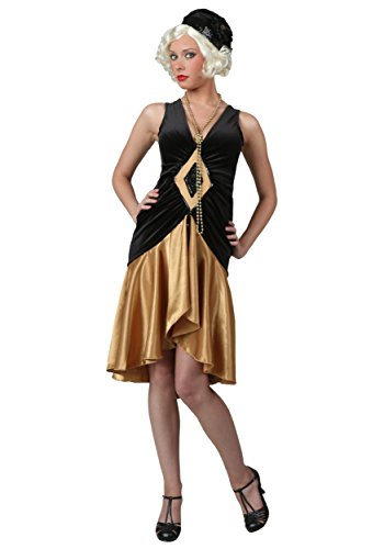 Roaring 20's Plus Size Flapper Costume (Roaring Twenties Costumes Plus Size)