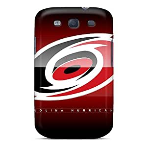 Protective Hard Cell-phone Cases For Samsung Galaxy S3 (tos17561eoDJ) Unique Design Nice Carolina Hurricanes Pattern