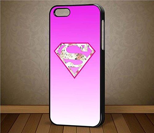 Filles suparman Symbole Quirky femelle Étui pour téléphone portable pour iPhone, Samsung Galaxy, HTC (Galaxy S6Edge Blanc)