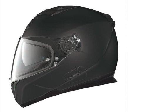 Nolan N86 Solid Colors Helmet (Flat Black, Small)