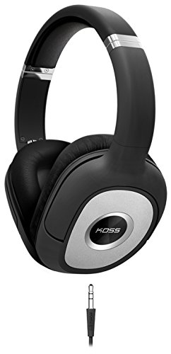Koss SP540 Full Size Dynamic Headphones, Black with Silver Accents by Koss