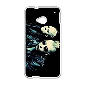 HTC One M7 Cell Phone Case Covers White KMFDM Tjuev
