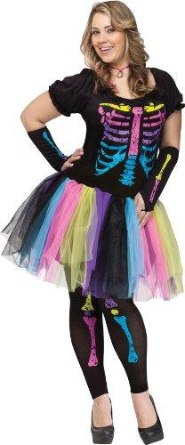 Funky Punk Bones Plus Size Costume -