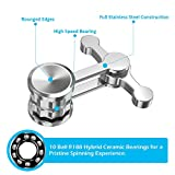 Updated Version Anti-Anxiety Fidget Spinner, Fidget Hand Toys Focus Finger Spinning Toy for Kid and Adult Relieving Stress Boredom ADHD Autism