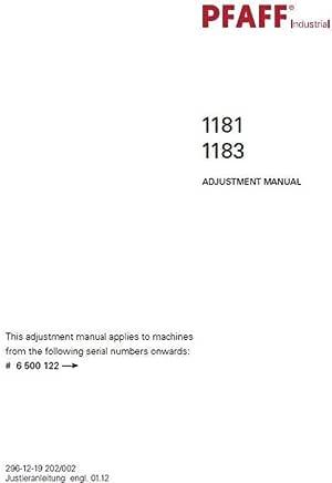 Descargar Pdf-File Pfaff 1181 1183 Máquina de coser manual de ...