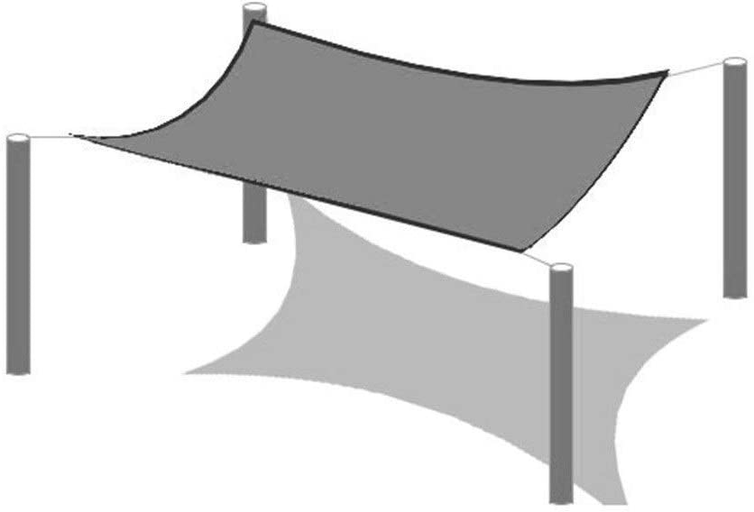 16 Tama/ños Parques para Patios Jardines De Infancia Color : Beige, Size : 6x2m PENGFEI Toldo Vela De Sombra Bloqueador Solar Toldo Toldo Aislamiento T/érmico Respirable Terrazas