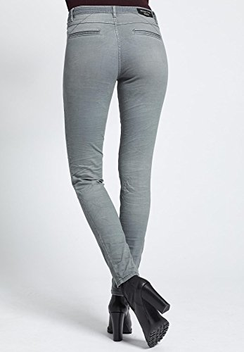 Khujo Gris Uni Femme Uni Femme Femme Gris Uni Pantalon Khujo Pantalon Khujo Pantalon x17Swqn