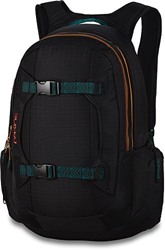 Amazon.com : Dakine Women's Mission Backpack, Black Ripstop, 25L ...