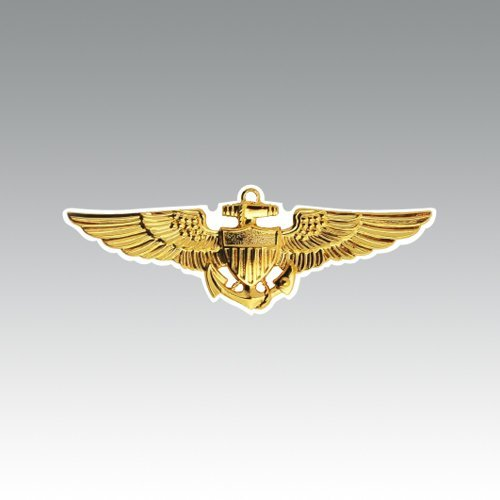 RDW United States Naval Aviator Wings Sticker - Die Cut - Decal navy aviation pilot military fly 5.50