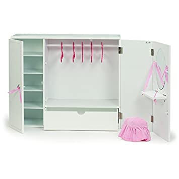 Our Generation Dolls Wooden Wardrobe Doll 18 By Our Generation