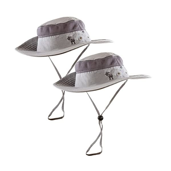 fef12999c2a88 Sun Hats 2-Pack – Safari Hat for Men Women and Children