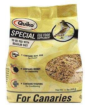 (Quiko Classic Egg Food 1.1 lb)