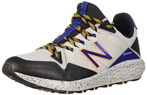 (New Balance Boys' Craig V1 Running Shoe, rain Cloud/Black/Team Royal, 4 M US Big)