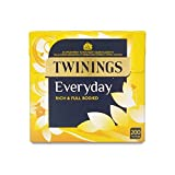 Twinings Everyday - 200 Tea Bags (Pack of 4)