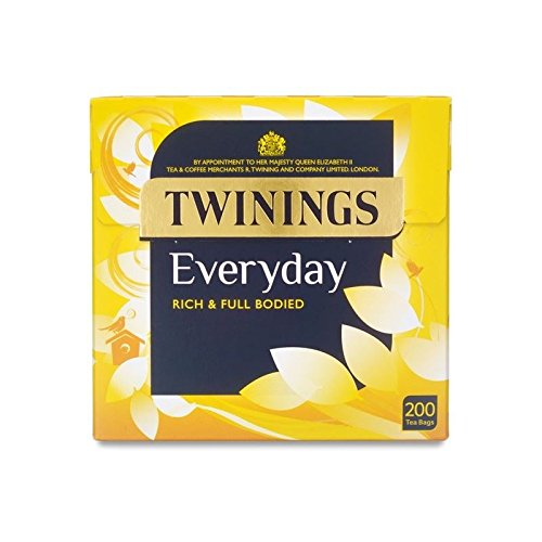 Twinings Everyday - 200 Tea Bags (Pack of 6) by Twinings