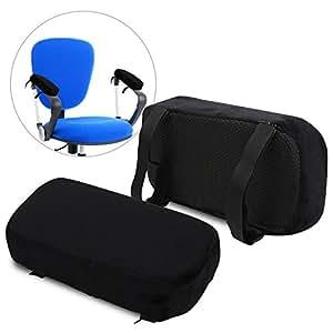 """Marelli brazo silla almohadillas – 2 """"de grosor de espuma de memoria cojín de"""